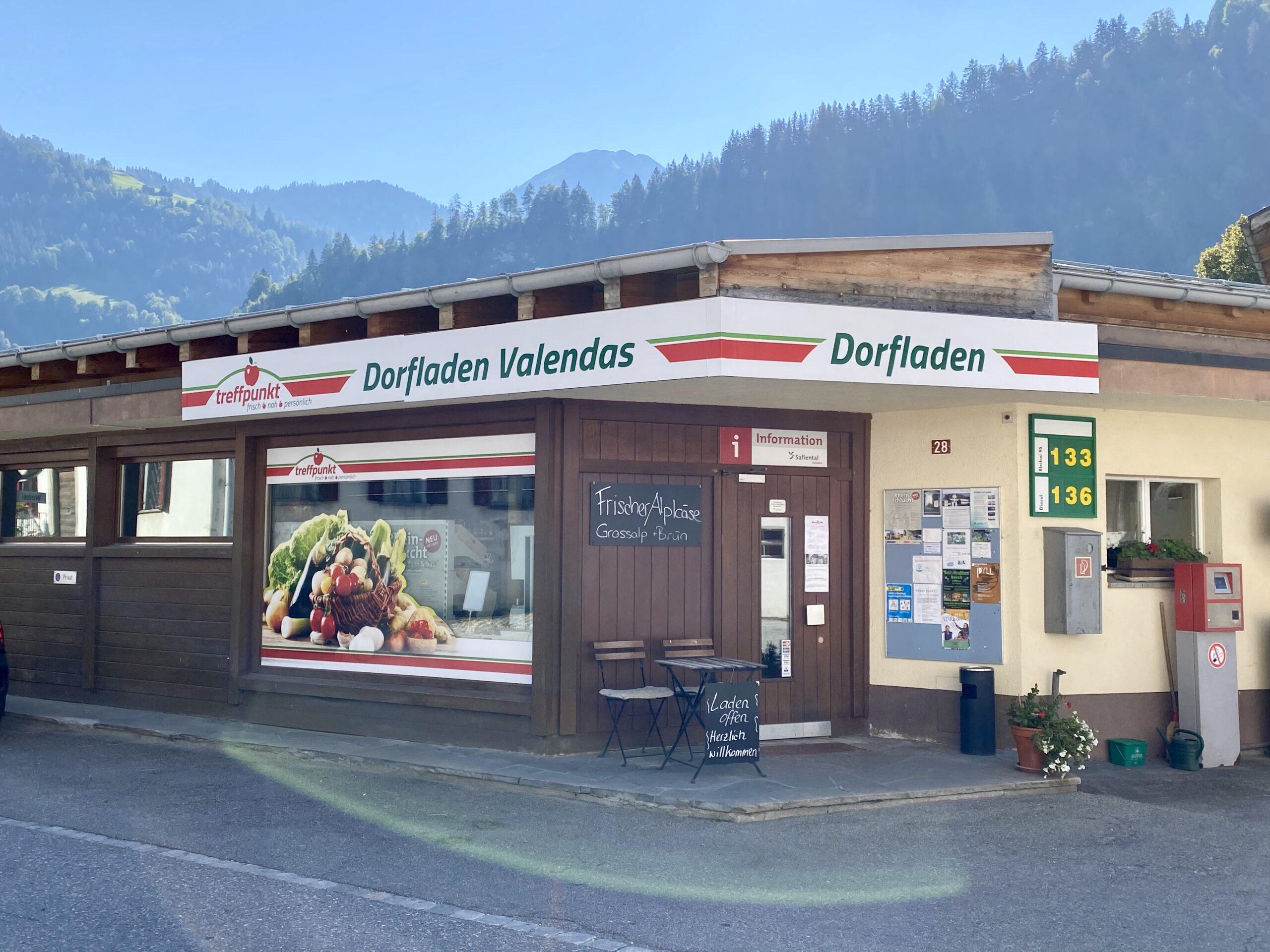 Dorfladen Valendas
