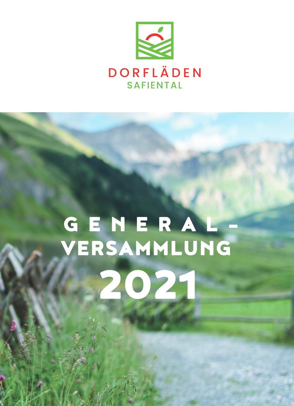 Schriftliche Durchführung der GV 2021